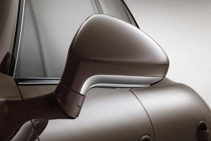 CarShield zijspiegelfolie transparant Porsche Panamera Coupe (09-13)