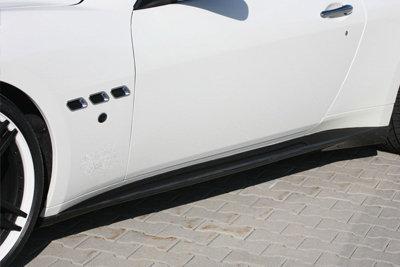 CarShield sideskirtfolie transparant Porsche Cayman Coupe (13-)