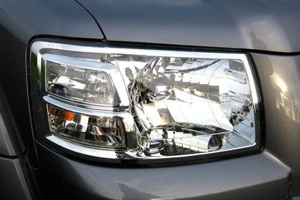CarShield koplampfolie transparant Nissan Navara (06-)