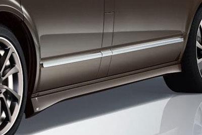 CarShield sideskirtfolie transparant Chevrolet Silverado 2500 (09-)