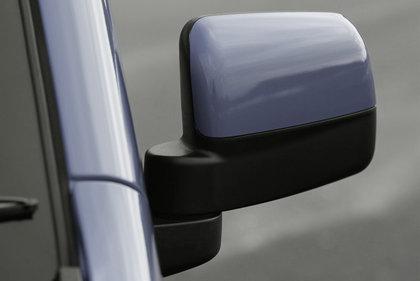 CarShield zijspiegelfolie transparant Volkswagen Caddy (04-)