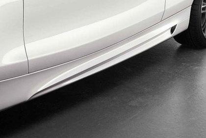 CarShield sideskirtfolie transparant Mercedes-Benz SL-Klasse Cabriolet (08-12)