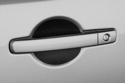 CarShield handgreepfolie zwart Nissan Note 3dr Hatchback (13-)