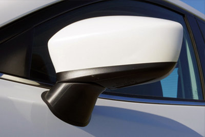 CarShield zijspiegelfolie   BMW 1-Serie 3dr Hatchback (07-11)   transparant